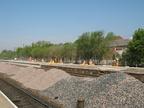 New Platform being built at Stalybridge