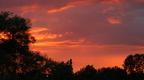 Sunset over Stamford Park 02-08-2012