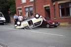 Crash on Crescent Road Dukinfield