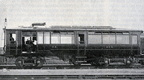 1912 great central railway petrol electric railcar
