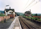 Dinting railway station in 1988