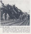 3-Stalybridge to Blackpool Derailed Train Victoria Station Manchester 1950