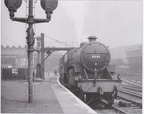 LMS 'Crab' 2-6-0 No. 2841 backs onto its train at Manchester Victoria (photo by R. F. Roberts)