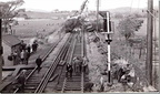01-Train crash at Hest Bank Station, May 20th, 1965