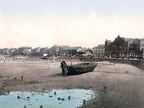 Here is an extraordinary photograph called, View From Stone Pier, Morecambe. This Colour Photochrom print was made between 1890 and 1900