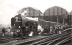 23.04.66 Manchester Exchange 60528 Tudor Minstrel with Waverley Rail Tour