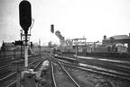 Manchester Exchange station. Stanier LMS Black 5 4-6-0 45156 Ayrshire Yeomanry 1968