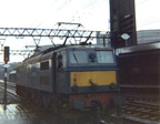 27001 Ariadne running round her train at Sheffield Victoria in September 1967