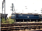 13 May 1980. 76010 leaves Wath yard