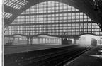 Platform 1, Manchester Central. Photograph