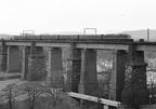 passenger on Dinting Viaduct