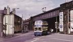 Just descended Rassbottom Street, en route to Stalybridge Bus Station, Railway station just beyond the bridge on the left.