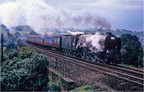 60145 St.Mungo  returning  north at Unstone viaduct 1965