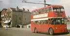 216 at the bottom of Crickets lane, it cost three hapence in 1955 from the globe on old street to the memorial gardens