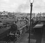 75062 & 75021 at Carnforth Shed, c1967