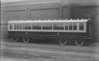 GCR THIRD CLASS CORRIDOR COACH No 1287  Built  1898