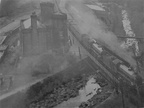 1940s Woodhead Tunnel...2 B1s running wrong line due to Sunday Maintainence...