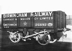 An 8 ton open wagon typical of the fleet of rental wagons available from Birmingham Carriage & Wagon Company Ltd