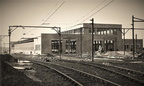 Reddish Maintenance Depot... almost completed,May 1954.