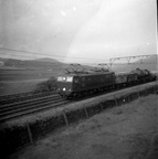 26025 with mixed train passing Torside 13th July 1955