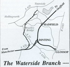 Map of the Waterside Branch Dinting