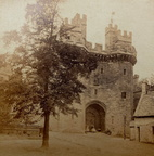 of Lancaster Castle which would have been taken in the 1860s.