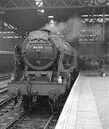 Pre-preservation Royal Scot No.46100 'Royal Scot' at London Euston with the 'Ulster Express' 1950's..
