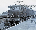 1500 d..c. Class EM2 27003 'solo' at Sheffield Victoria ...about 1955