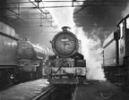 Wolverhampton Stafford Rd 8th October 1961, 5022 Wigmore Castle and 6020 King Henry IV.