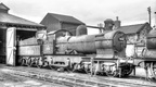 An early withdrawal GWR 90xx 4-4-0 No.9028 at Craven Arms M.P.D 1957