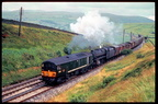 D5701 at Greenholme assisting a Black 5 on a Northbound Freight in July 1966.