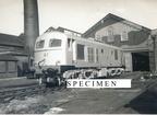 CIE (Irish Railways) Class 001 locomotive A1 new at Dukinfield Works 1955