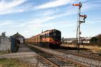 1988 CIE 001 CLASS BEET TRAIN AT CLONMEL