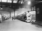 The Lancashire & Yorkshire Railway's 2.45 pm express train from Manchester to Blackpool at Manchester Victoria station  21st August 1907.