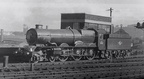 6003 King George IV in the shed yard at Bristol Bath Road in 1958.