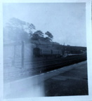 3 car emu at lancaster castle returning to morecambe prom 1965