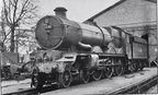 5091 Cleeve Abbey at Worcester shed in 1964