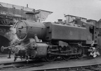 0-6-0PT No. 1500 at Old Oak Common in 1960