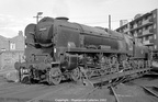 Rebuilt West Country 4-6-2 34100  Appledore  on Nine Elms shed in the mid 1960s. Photos by Les Pitcher.1