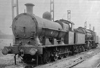 49122 and an unidentified WD at Springs Branch shed in 1961