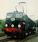 Railfest at National Railway Museum, York that 2004 - here she is with pantographs raised...