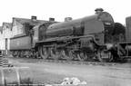 Urie-Maunsell N15 4-6-0 30806   Sir Galleron  on Hither Green Shed in the late 1950s