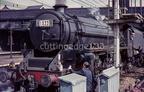 Black 5 45382 at Guide Bridge, 19-09-1964