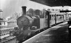 14XX No. 1427 at Brixham in 1955