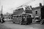 Ashton Under Lyne Trolleybus Crown Point Denton