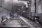 Woodhead  Tunnel construction train