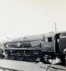 35003 Royal Mail at Nine Elms.26-9-1965