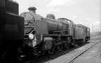 31411 with Standard 4 2-6-4T 80088 on Redhill shed in the mid 1960s