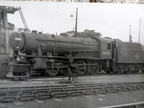 90229 on Dunfermline shed in 1964