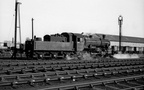 Standard 2 2-6-0 78021 having been coaled works onto Wellingborough shed in 1963 1
